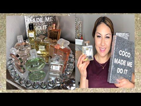 Mi COLECCIÓN  de perfumes CHANEL y mi FAVORITO 😍😍