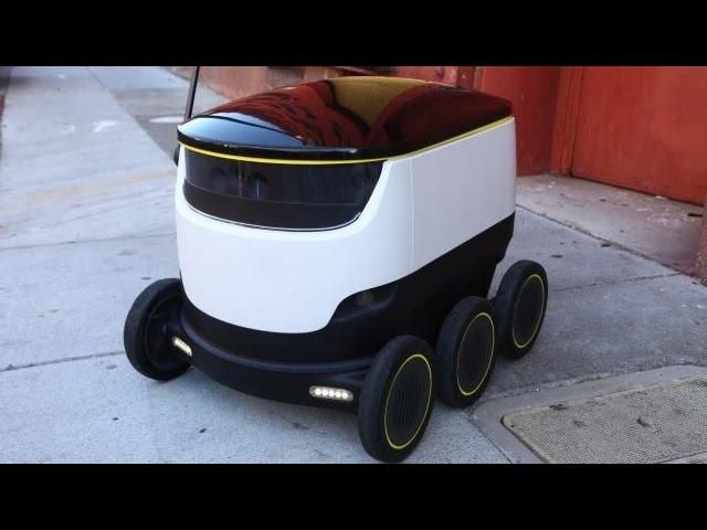 На улицах Лондона появятся роботы-курьеры