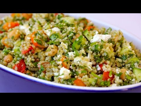 Video Quinoa Tabouli Salad Recipe | Clean & Delicious