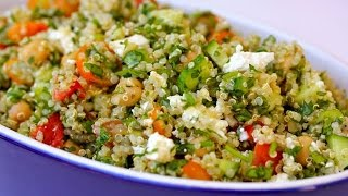Quinoa Tabouli Salad | Clean & Delicious