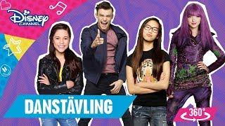 DISNEY CHANNELS DANSTÄVLING | 360 VIDEO - Rösta på din favorit!