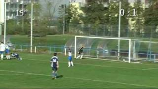 preview picture of video 'FC Zličín - Loko Vltavín B 0:2 26. 9. 2009'