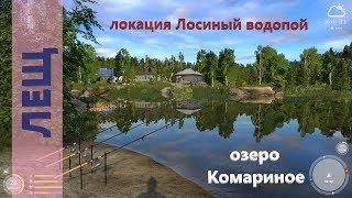 Русская рыбалка 4 - озеро Комариное - Лещ на обычного червя