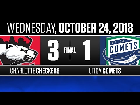 Checkers vs. Comets | Oct. 24, 2018