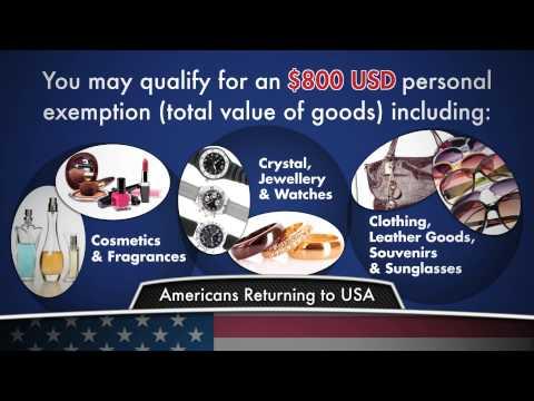 Duty Free Canada: American Customs Allowancesv2