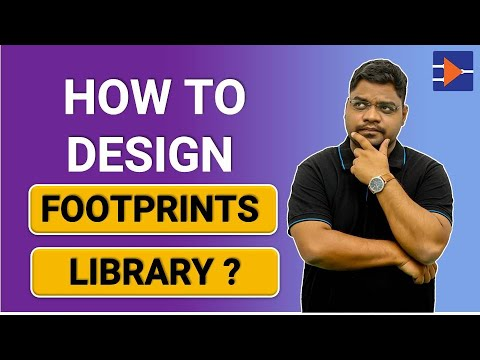 PCB Design | Online Course | Footprint Library Design - YouTube