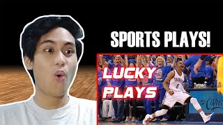 LUCKIEST SPORTS PLAYS IN HISTORY! *very lucky edition*