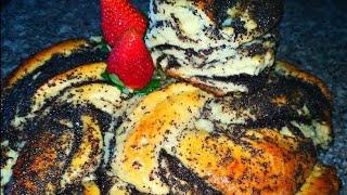 Пирог с маком     Сладкая выпечка с маком.