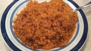 How To Cook Nigerian Jollof Rice / The Easy Way.