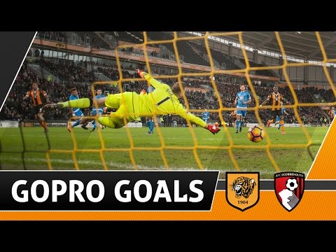 The Tigers 3 AFC Bournemouth 1   GoPro Goals   14.01.17