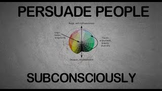 HOW TO PERSUADE PEOPLE WITH SUBCONSCIOUS TECHNIQUES | METHODS OF PERSUASION SUMMARY