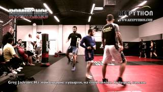 Rustam Khabilov, Adlan Amagov, Imanali Gamzatkhanov training at Jackson