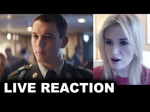 Thank You For Your Service Trailer REACTION
