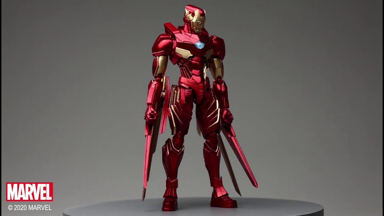 Video MARVEL UNIVERSE VARIANT BRING ARTS™ IRON MAN DESIGNED BY TETSUYA NOMURA [ACTION FIGURE]