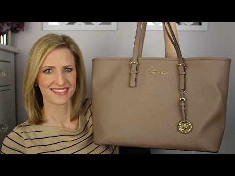 Michael Kors Jet Set Multifunction Tote Review & Tour | #michaelkors