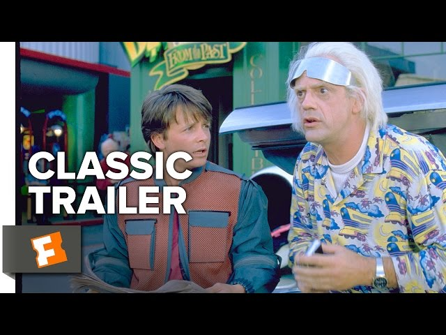 BACK TO THE FUTURE (SUNDAY JULY 5) Trailer