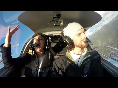 Marriage Proposal Prank in a Plane