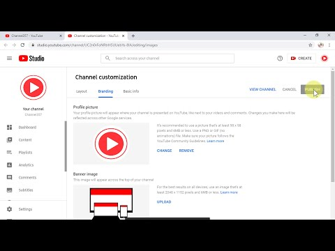 How to Change YouTube Profile Picture (Desktop)
