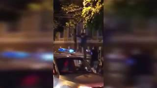 Драка с полицией после матча Чемпионата мира по футболу / ЧМ 2018