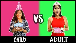Child Vs. Adult | Children's Day Special | Rickshawali