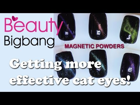 More Effective Cat Eyes With BBB Magnetic Powders