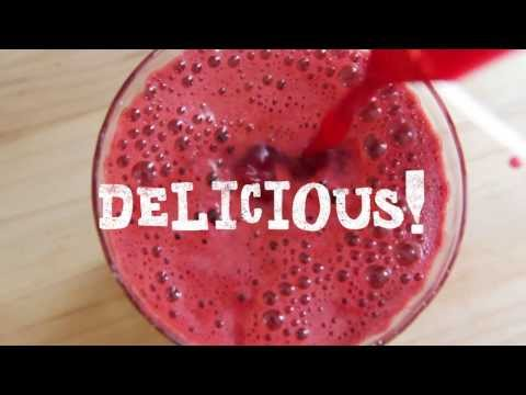 Video Juicing Recipes - How to Make Tropical Carrot Apple Juice