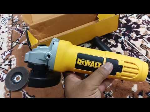 Dewalt Electric Angle Grinder DW801