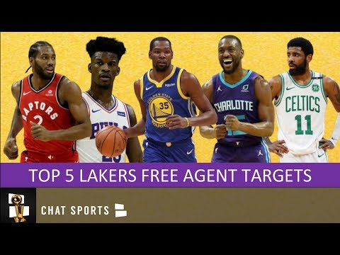 5 Star Players The Lakers Can Sign In 2019 NBA Free Agency To Form A New Big 3