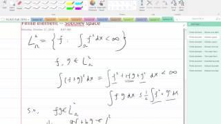 Lecture 14 Part 5: Sobolev space