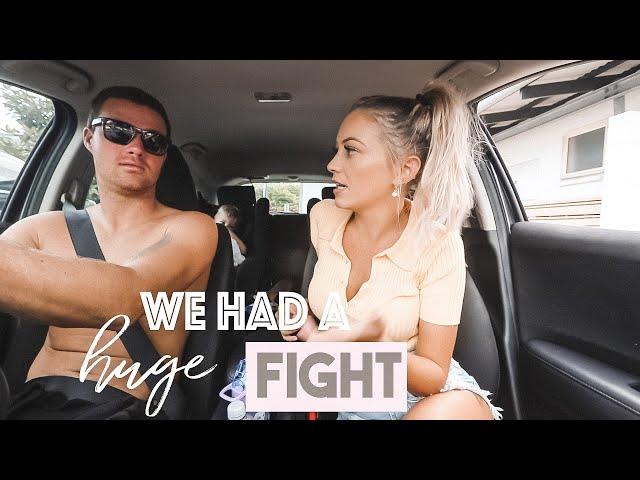WE HAD A HUGE FIGHT... * I CRIED * -  SUPER RAW VLOG *AUSSIE MUM VLOGGER*