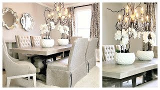 NEW! Dining Room Makeover With/ American Signature Furniture & EXCITING NEWS!!!!