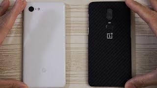 Google Pixel 3 XL vs OnePlus 6 - Speed Test!
