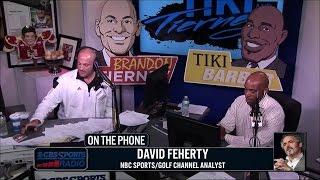 NBC Sports' David Feherty joins Tiki and Tierney