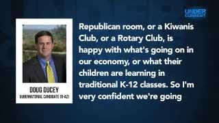 EXCLUSIVE AUDIO: AZ Governor Candidate Doug Ducey at Koch Retreat