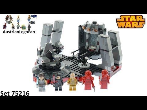 Vidéo LEGO Star Wars 75216 : Salle du trône de Snoke