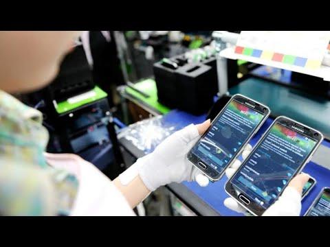 Samsung закрыла завод из-за коронавируса // Вести.net