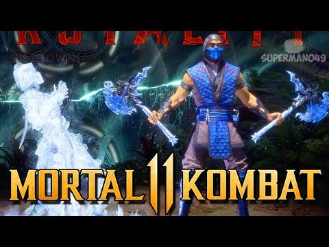 """Going For A Brutality That Doesn't Exist... - Mortal Kombat 11: """"Sub-Zero"""" Gameplay"""