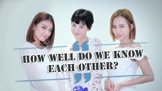 Bonnie, Hong Ling and Ying Ying play : How well do you know each other ?