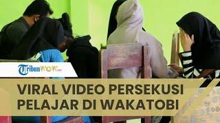 Viral, Video Sekelompok Siswi SMAN di Wakatobi Persekusi Seorang Siswa, yang Lain Hanya Merekam