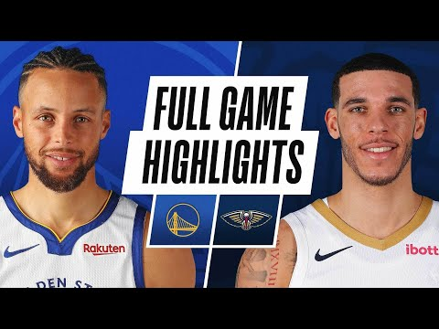 New Orleans Pelicans vs Golden State Warriors</a> 2021-05-05