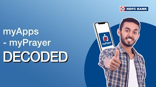 Know What is myPrayer, under myApps powered by HDFC Bank