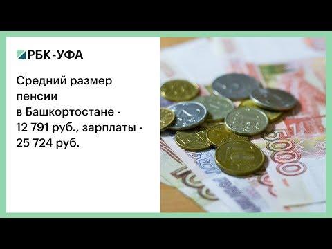 Средний размер пенсии в Башкортостане - 12 791 руб., зарплаты - 25 724 руб.