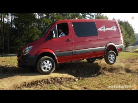 2015 Mercedes-Benz Sprinter Video First Look