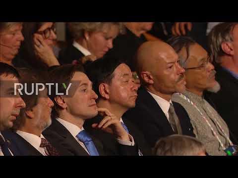 Russia: Putin welcomes International Cultural Forum in St. Petersburg