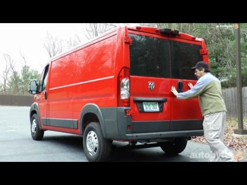 2015 Ram ProMaster 1500 Cargo Van Video Review
