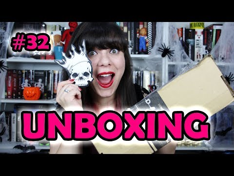 Unboxing DarkSide Books #32