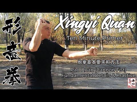 Xingyi Quan Ten Minute Primer - Pao Quan (Cannon Fist)