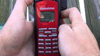 How to make a call on the Globalstar GSP-1700