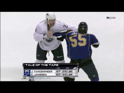Jim Vandermeer vs Cam Janssen