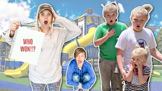 LAST to LEAVE the PLAYGROUND! Giveaway...WHO WINS?!